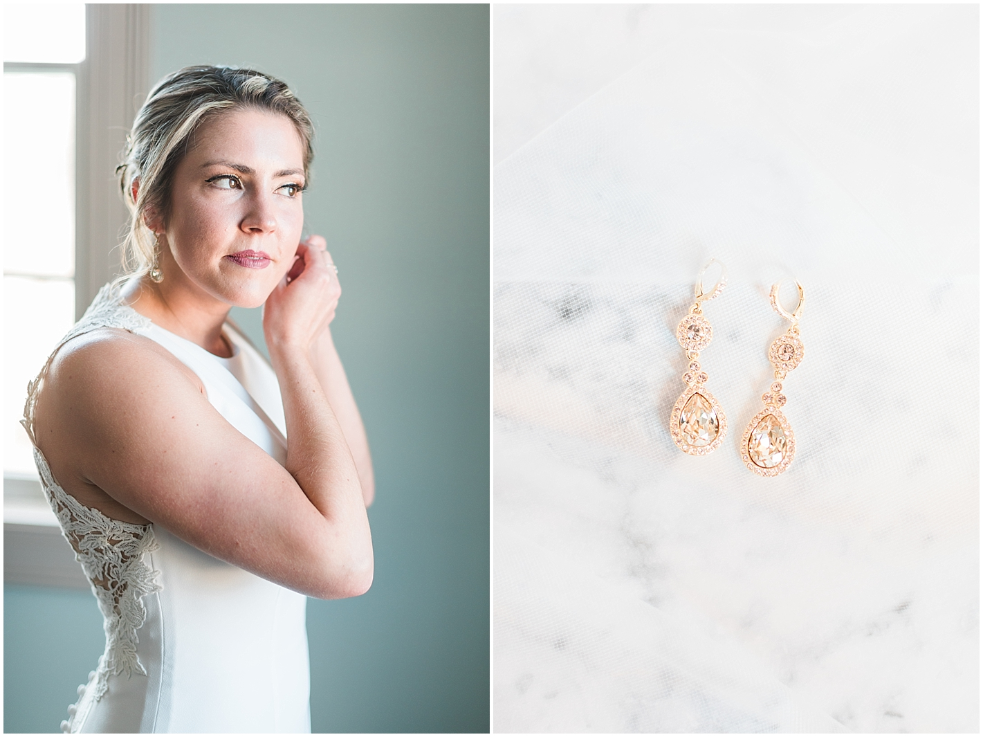 gold earring Photos by Alyssa Parker Photography