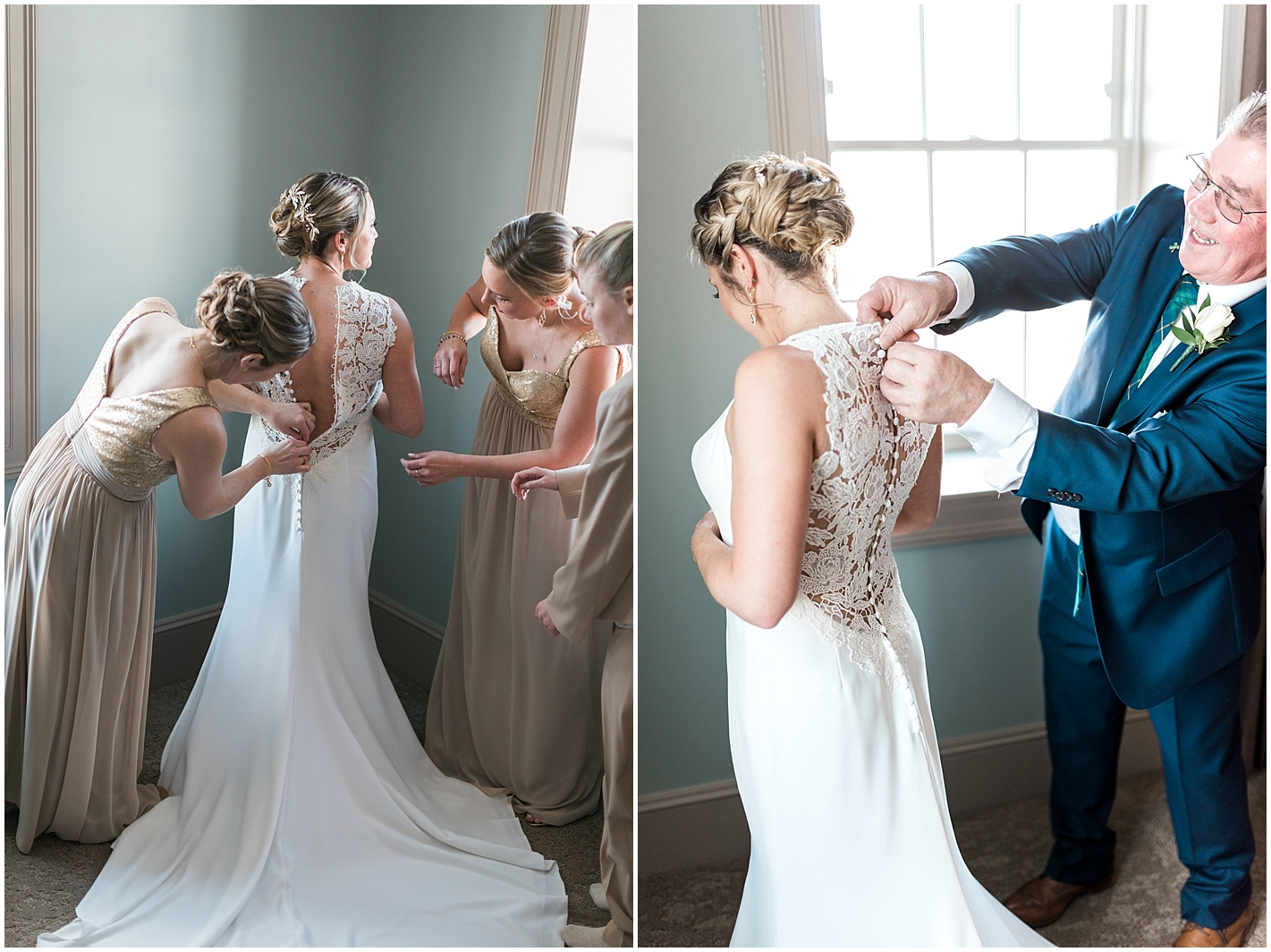 Lace Wedding Gown Photos by Alyssa Parker Photography