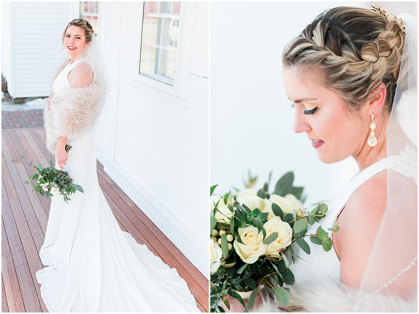 bride portraits by Alyssa Parker Photography