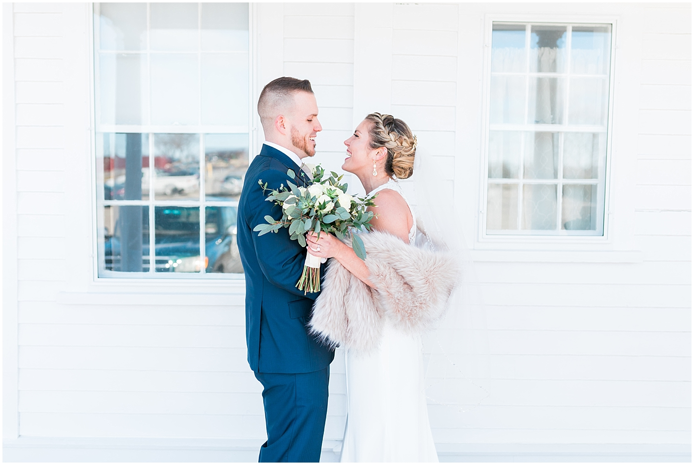 light and airy wedding Photos by Alyssa Parker Photography