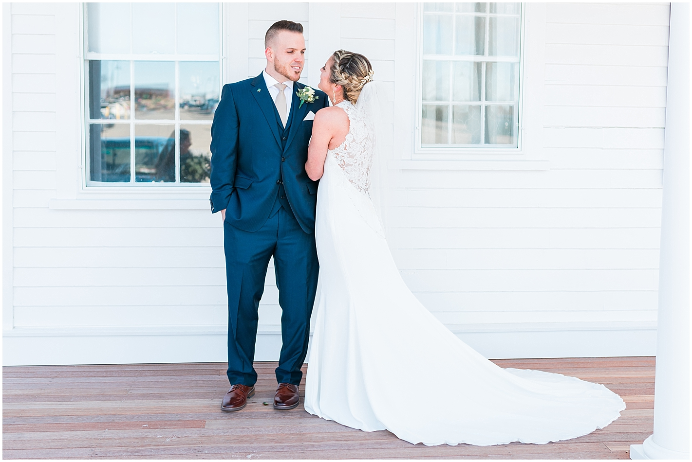 Low Back Lace Gown Photos by Alyssa Parker Photography
