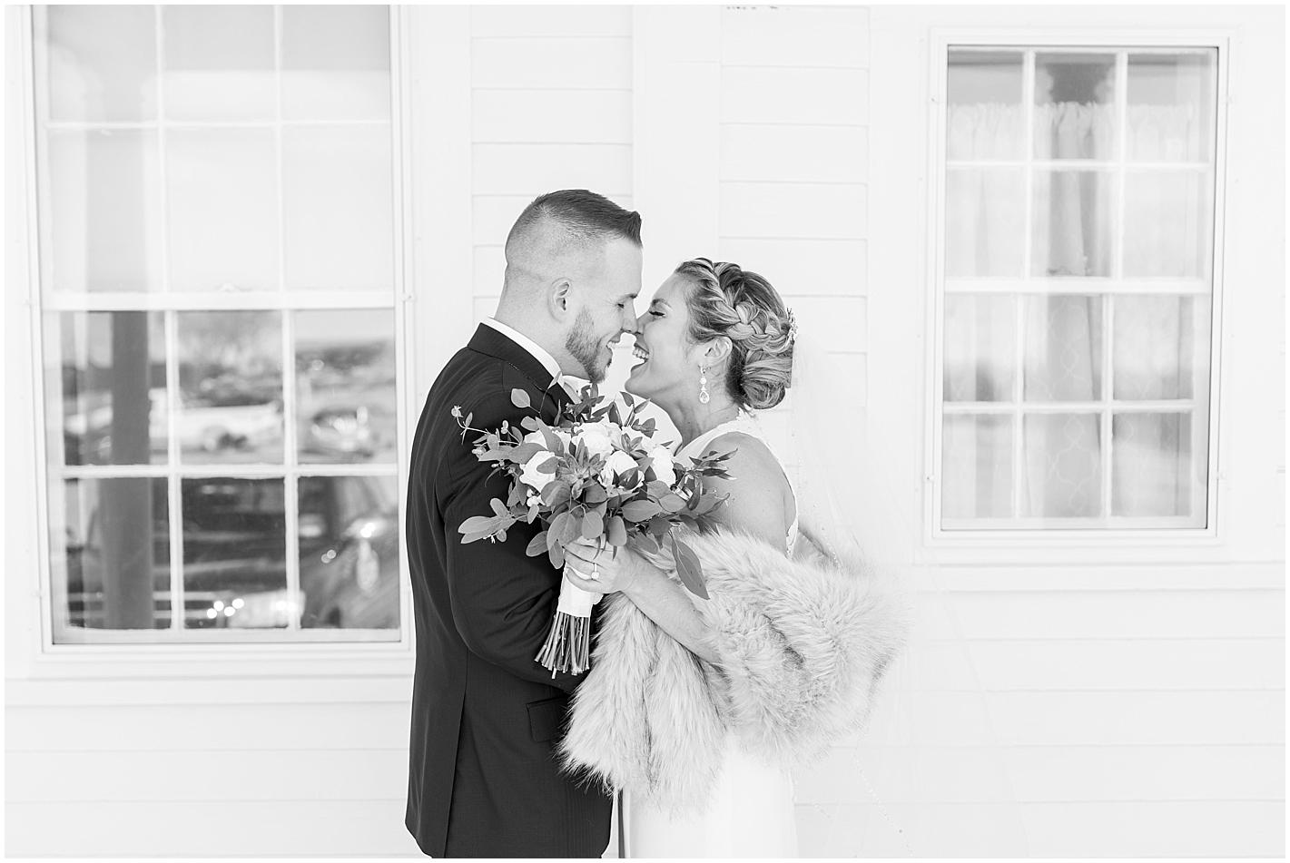 Romantic Wedding Portrait  by Alyssa Parker Photography