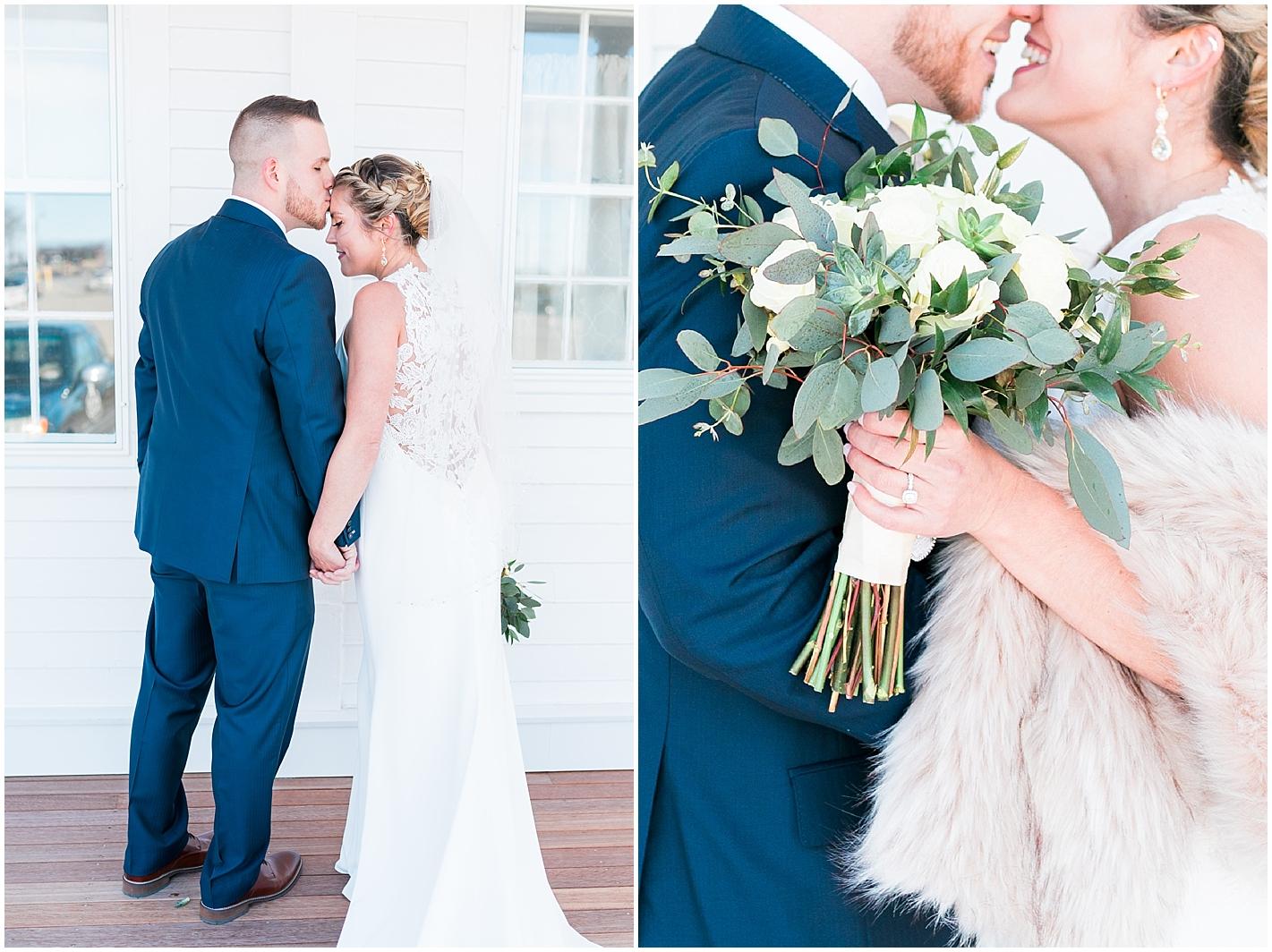 White Rose Bridal Bouquet Photos by Alyssa Parker Photography