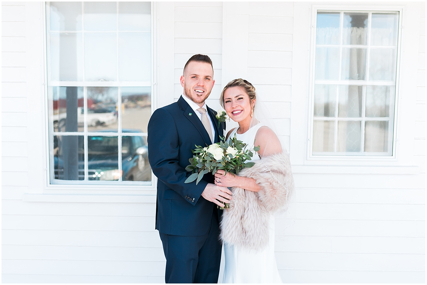Classic Bride and Groom Photos by Alyssa Parker Photography