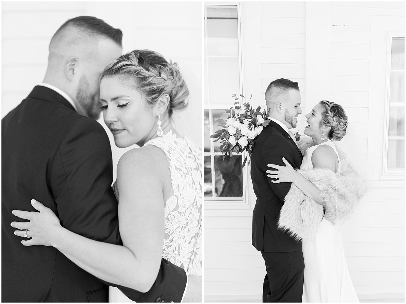 Black and White Couples Photos by Alyssa Parker Photography
