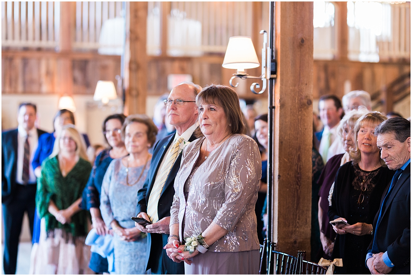 Mothers Reaction at Sons Wedding Photos by Alyssa Parker Photography