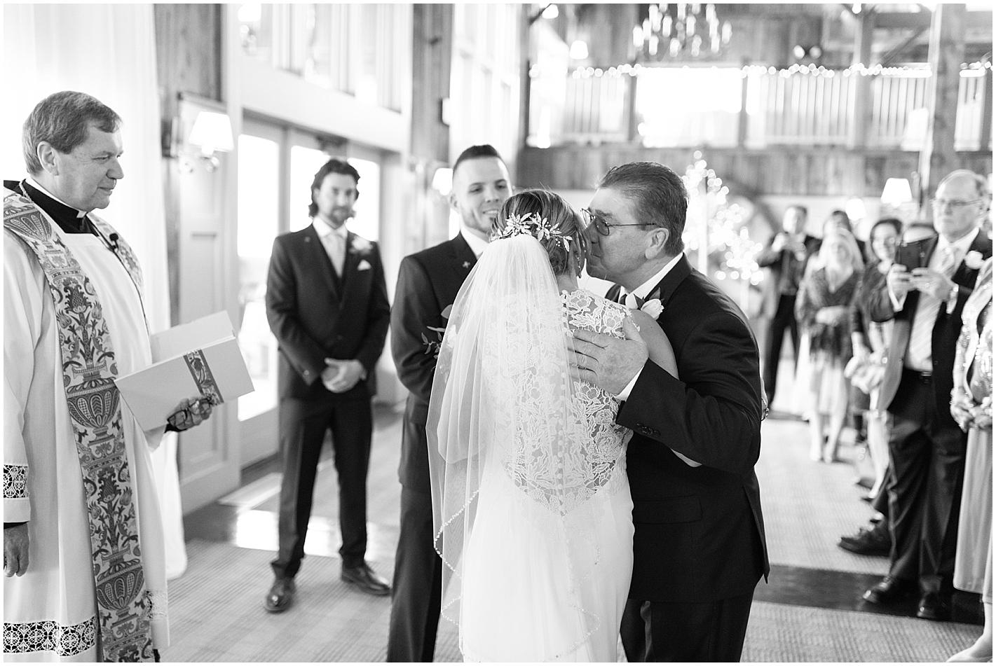 Beautiful Ceremony Groton MA Photos by Alyssa Parker Photography