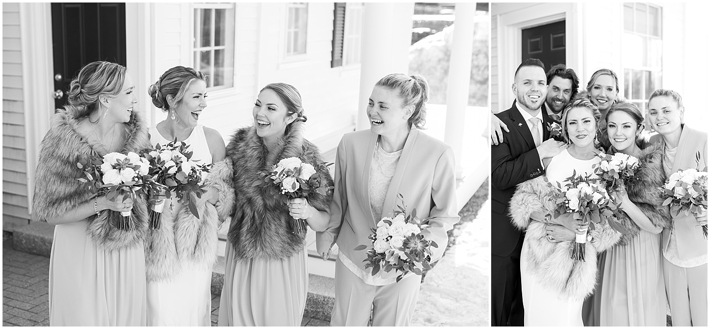 Small Bridal Party Photos by Alyssa Parker Photography