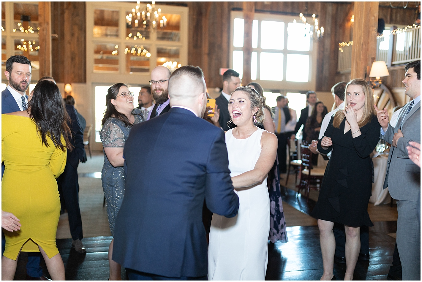 Wedding Reception at Gibbet Hill Grill Photos by Alyssa Parker Photography