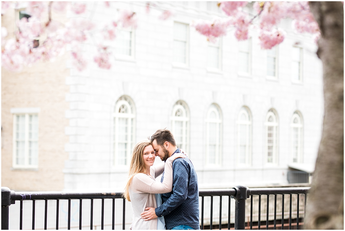 Spring blooming Engagement Session By Alyssa Parker Photography