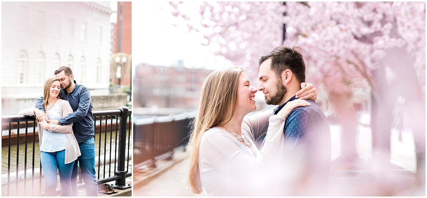 April Engagement Session In Lowell, MA By Alyssa Parker Photography