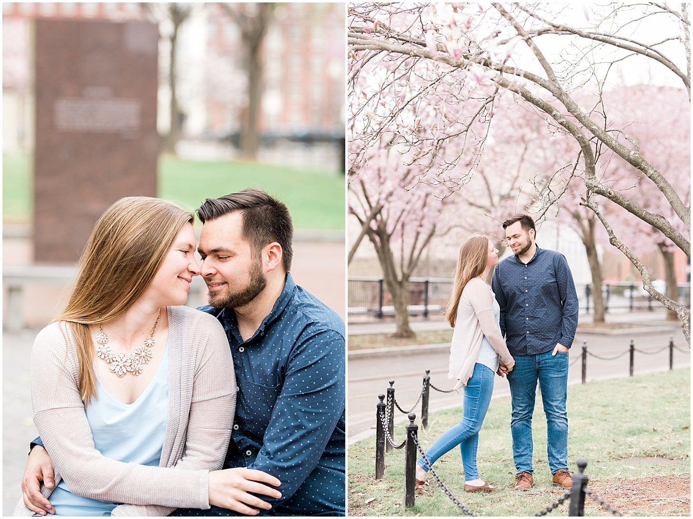 Lowell Massachusetts Engagement Shoot By Alyssa Parker Photography