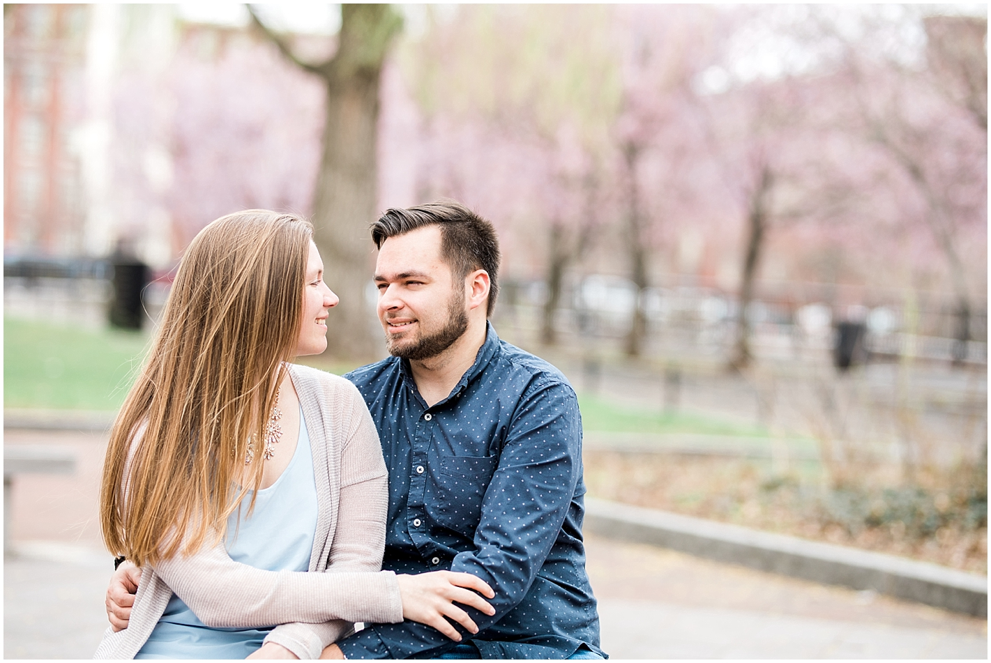 Downtown Lowell MA Engagement Session Photos by Alyssa Parker Photography