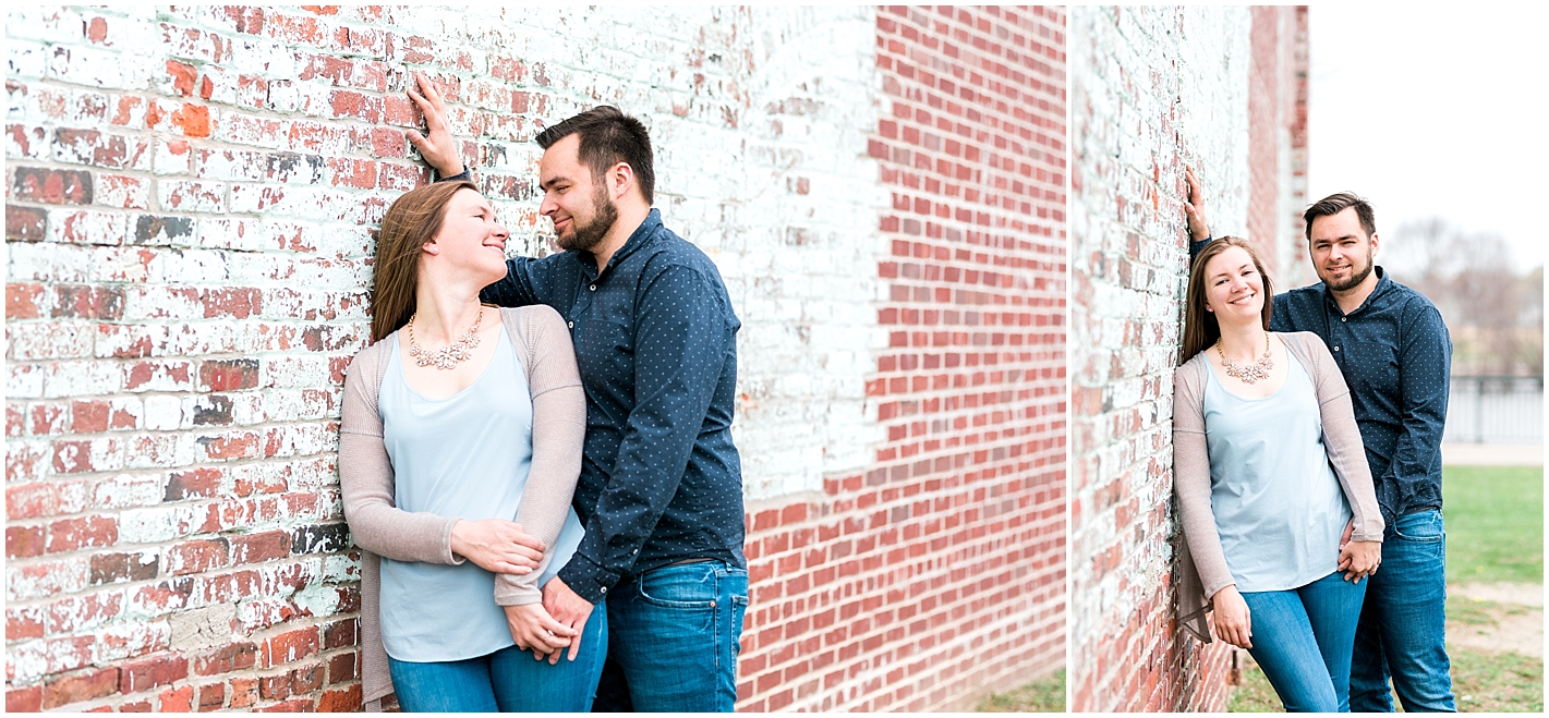 Industrial Light and Airy Engagement Session by Alyssa Parker Photography