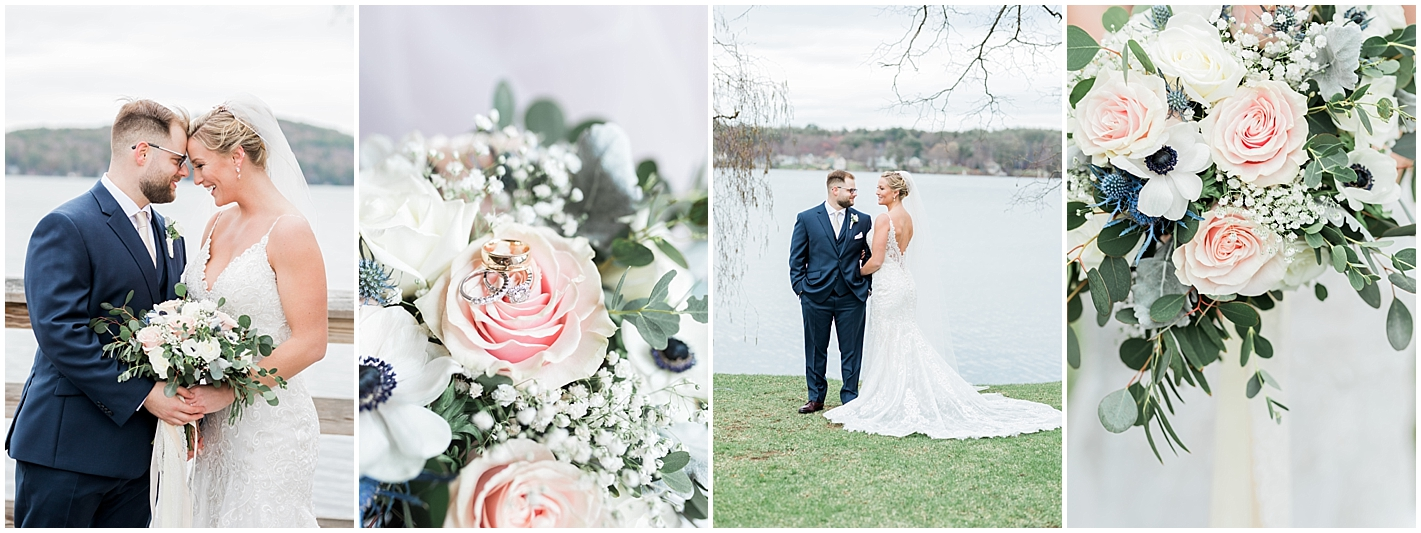 Meredith New Hampshire Spring Wedding Photos by Alyssa Parker Photography