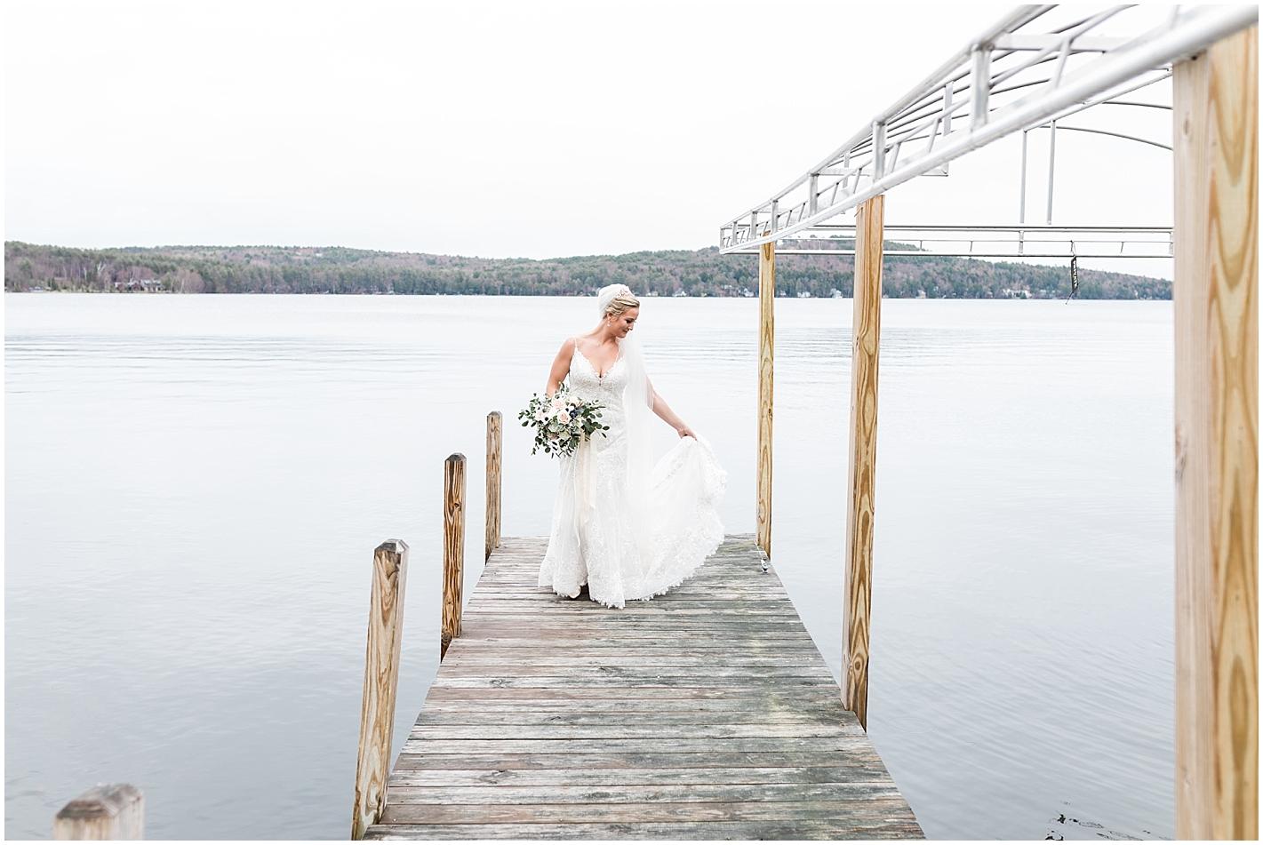 Lake winnipesaukee Wedding Photos by Alyssa Parker Photography