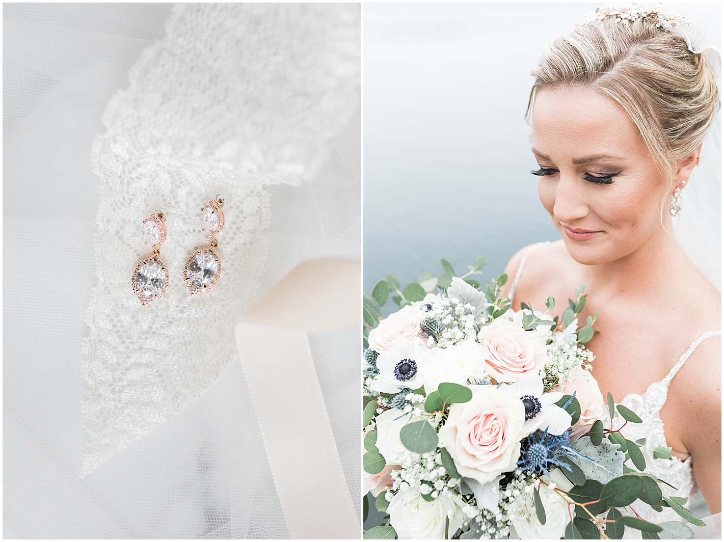 Natural Bridal Makeup Photos by Alyssa Parker Photography