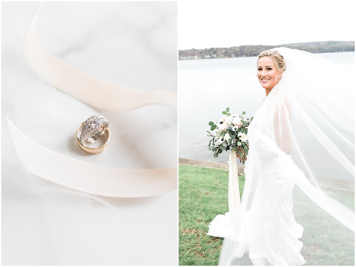 Long Veil Bridal Portraits by Alyssa Parker Photography