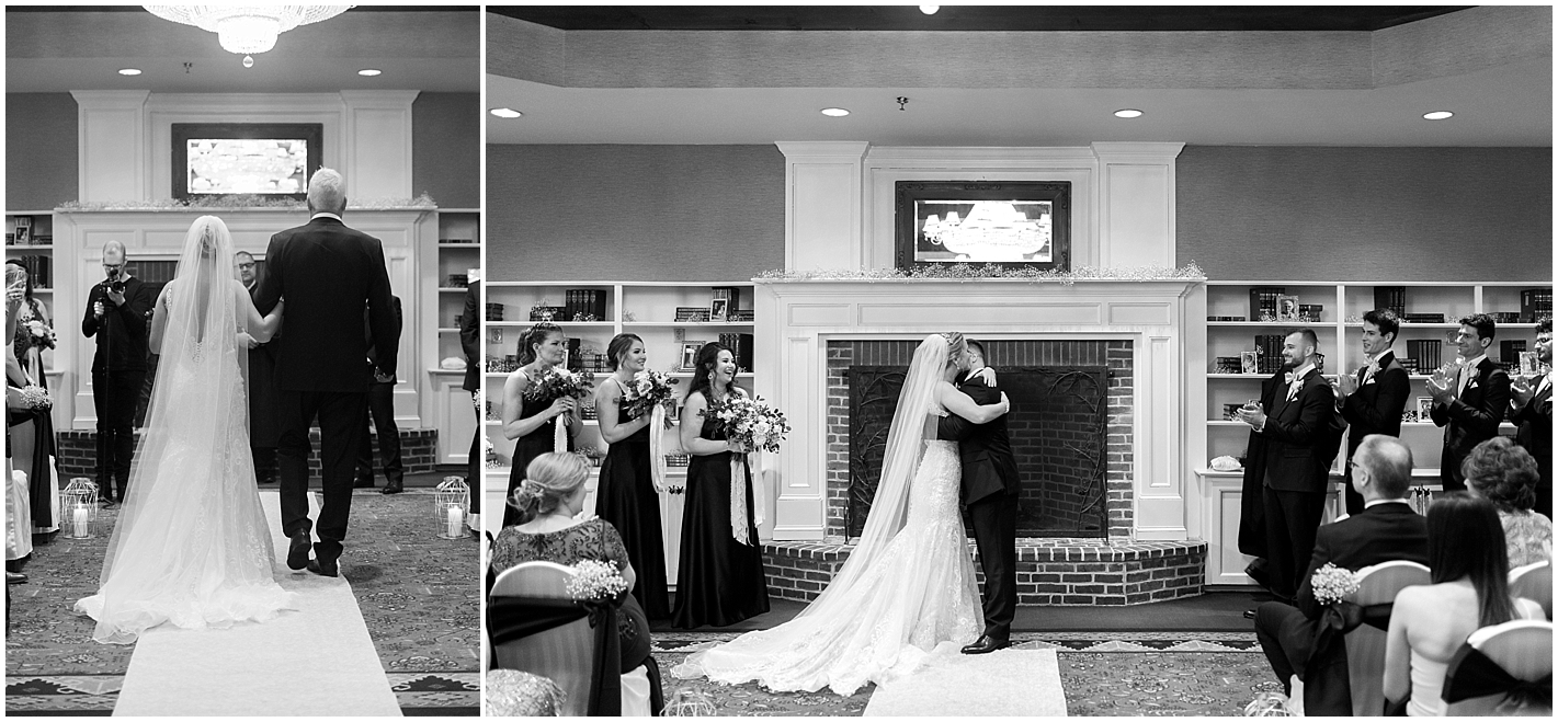 Church Landing Indoor Ceremony Photos by Alyssa Parker Photography