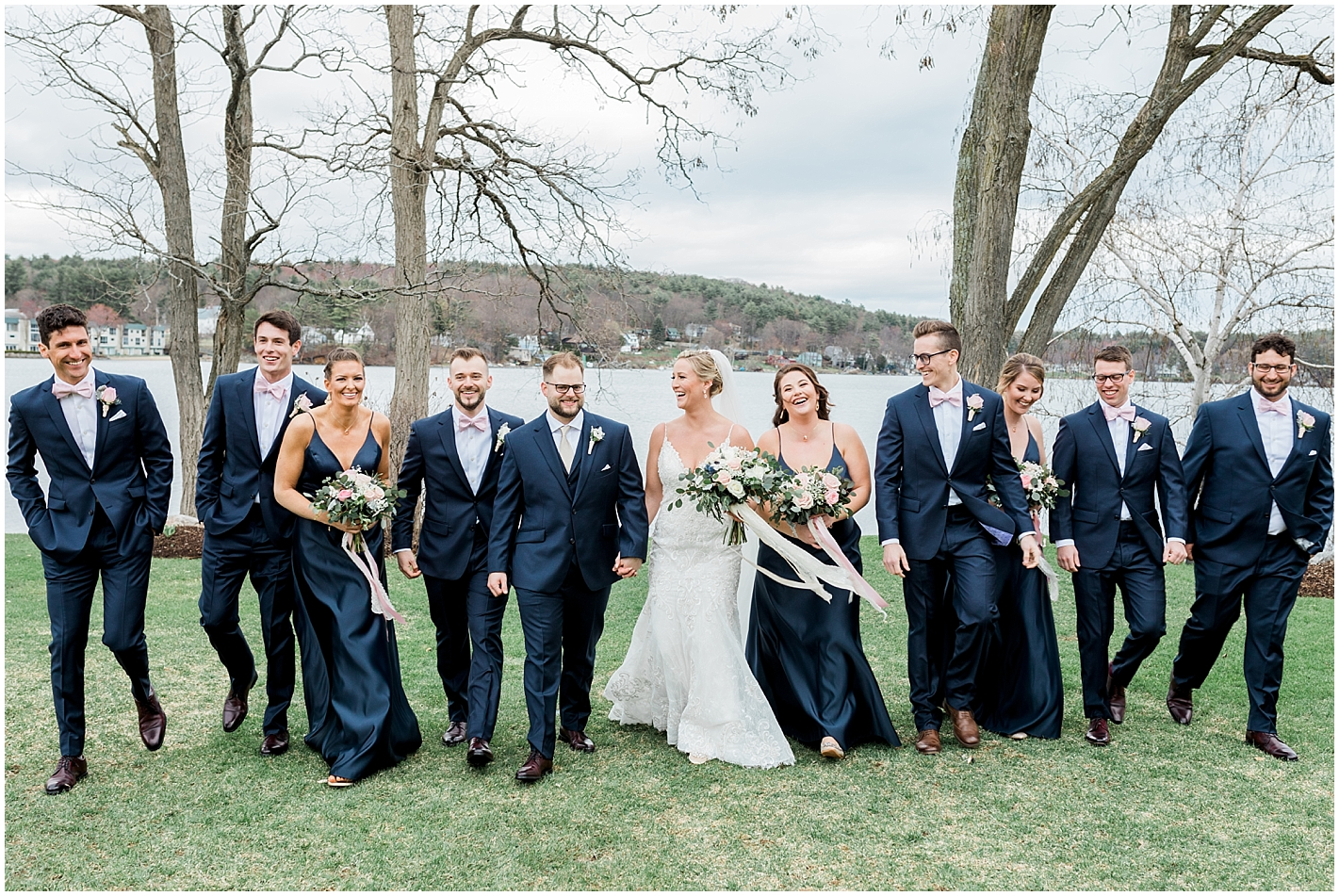 Candid Bridal Party Photos by Alyssa Parker Photography