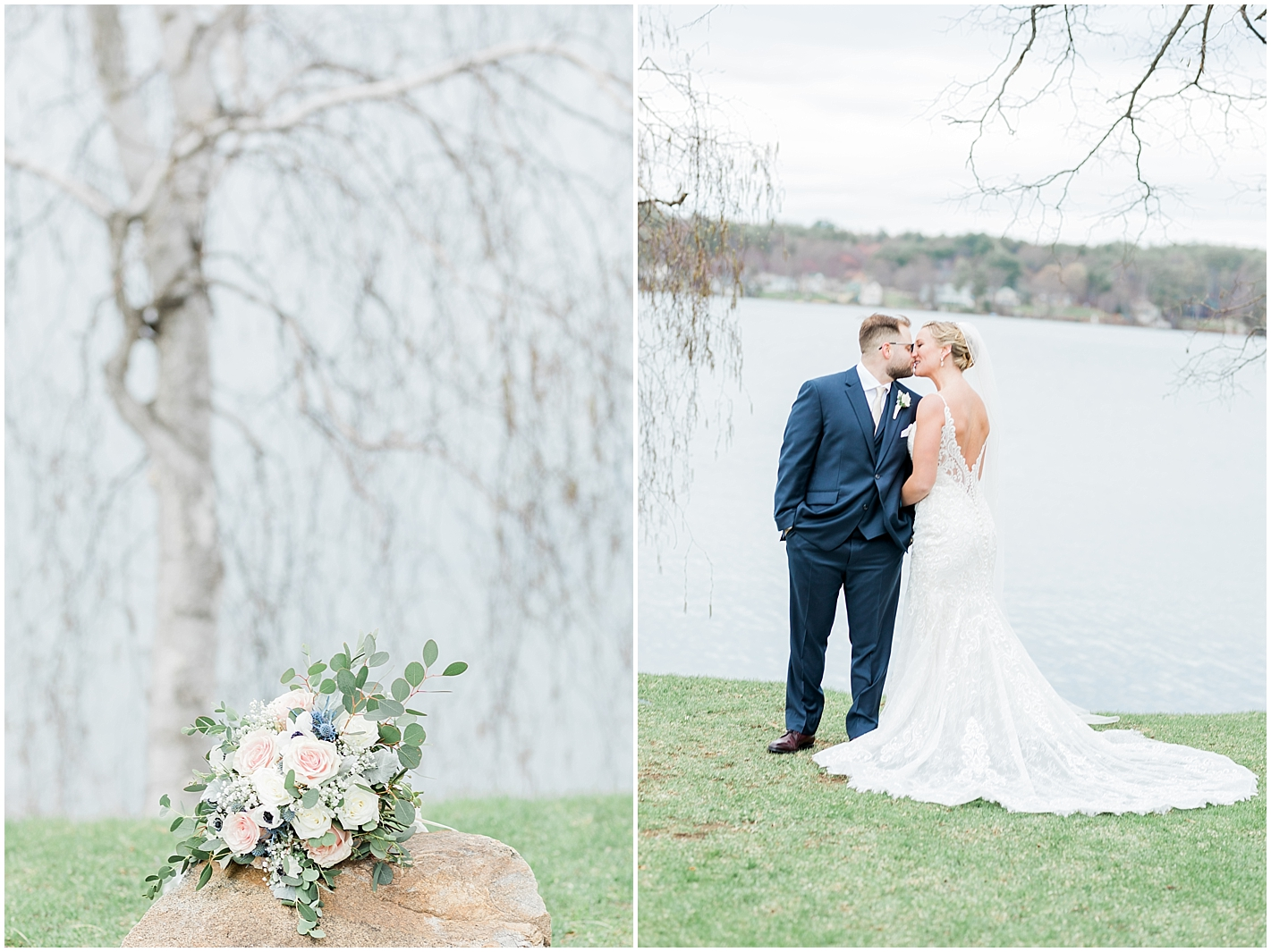 Romantic Light and Airy New England Wedding Photographer Alyssa Parker Photography