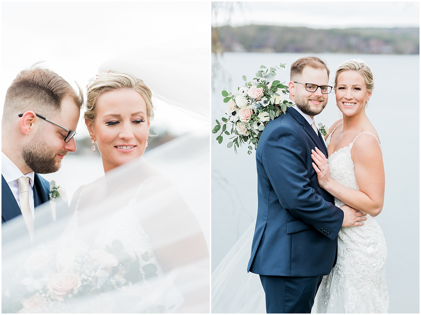 Timeless Wedding Portrait Photographer New Hampshire Photos by Alyssa Parker Photography