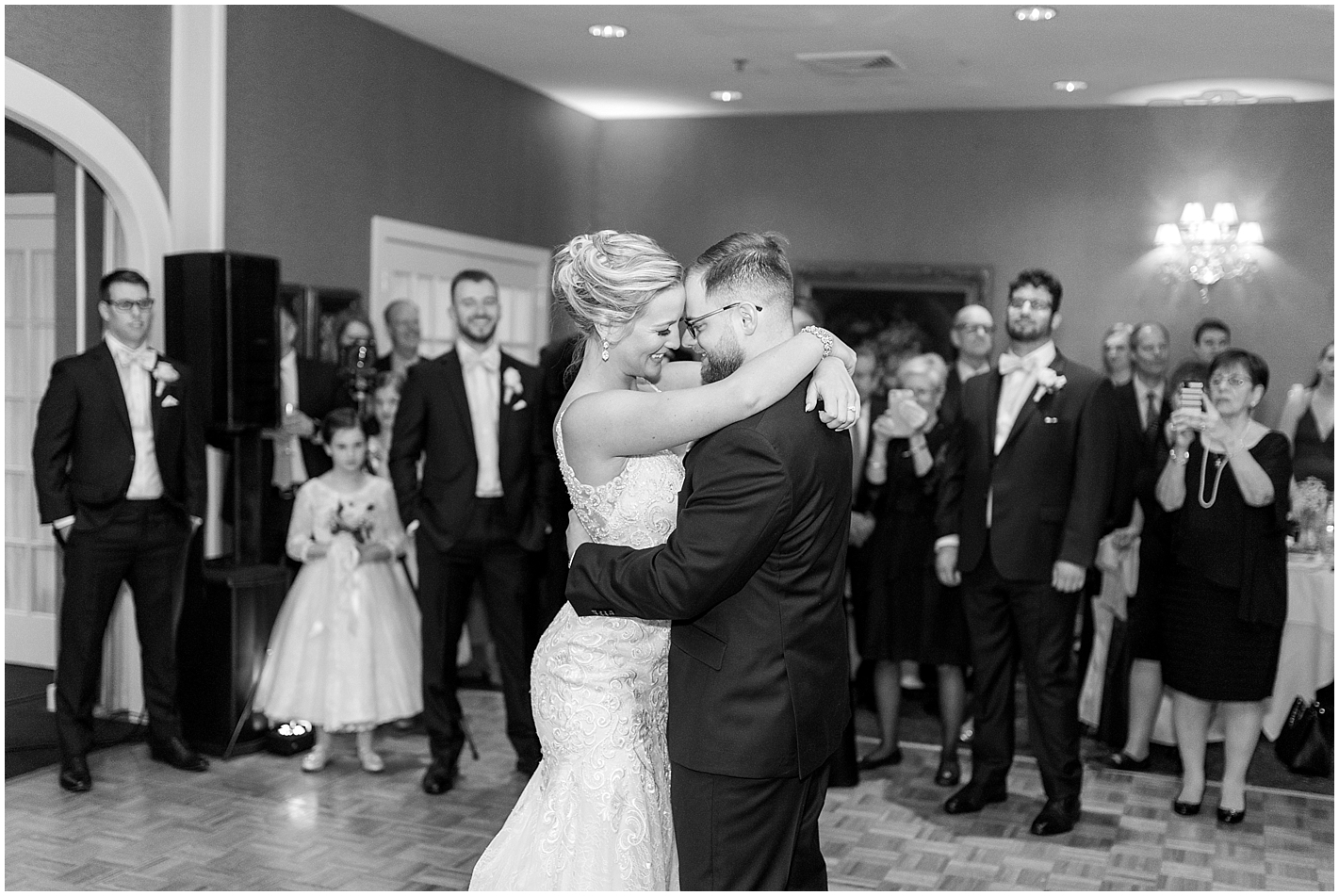 Sweet First Dance as Husband and Wife Photos by Alyssa Parker Photography