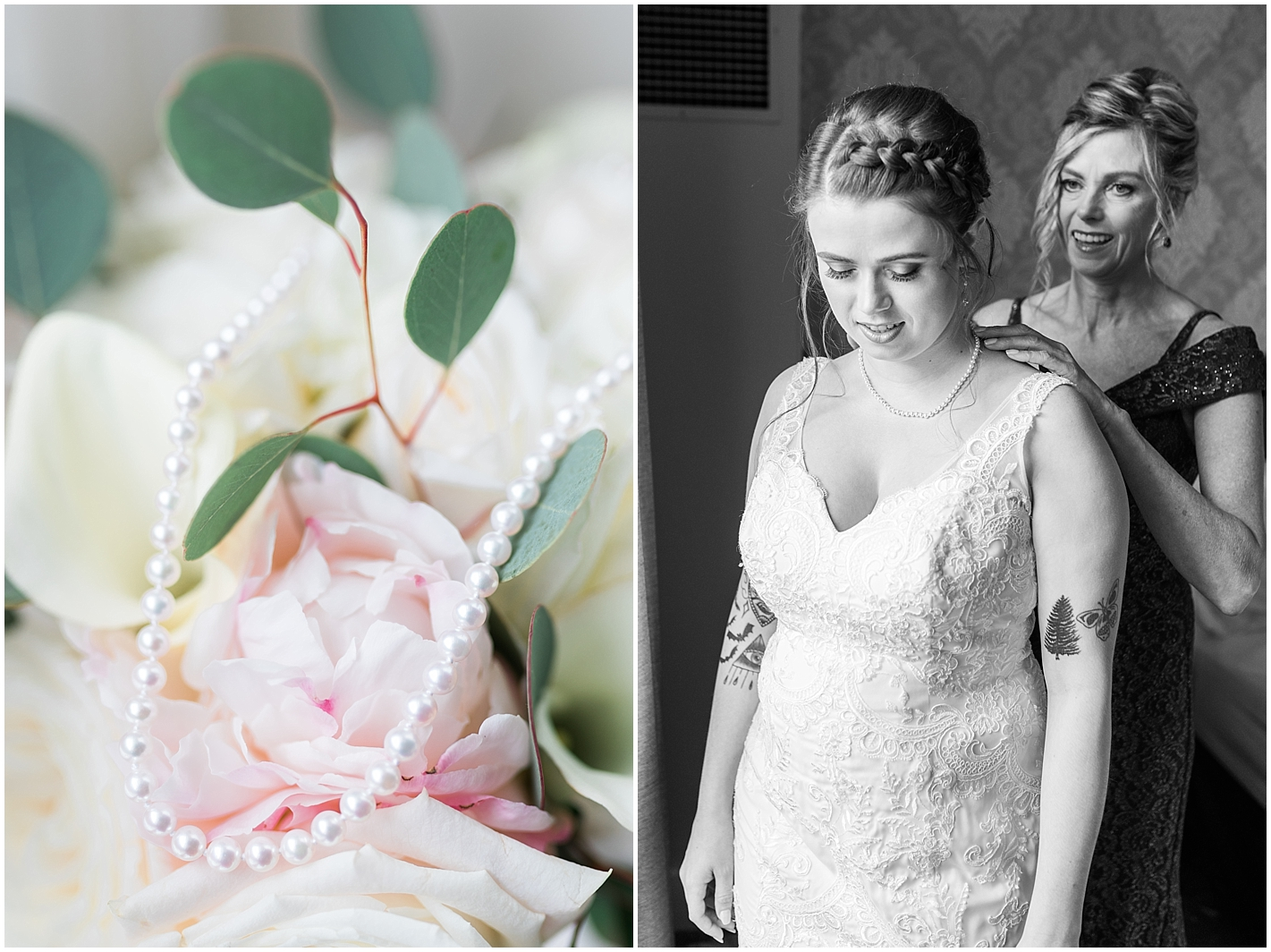 Pearl Wedding Necklace Photo By Alyssa Parker Photography