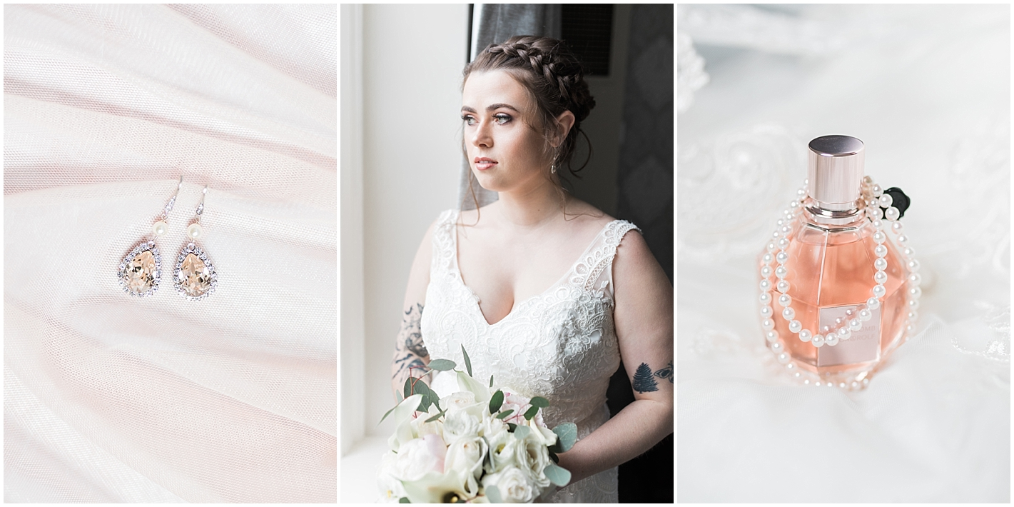 Blush Wedding Details Photos By Alyssa Parker Photography