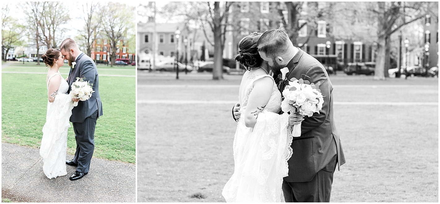 They shared the sweetest first look. I love the emotion in these photos.