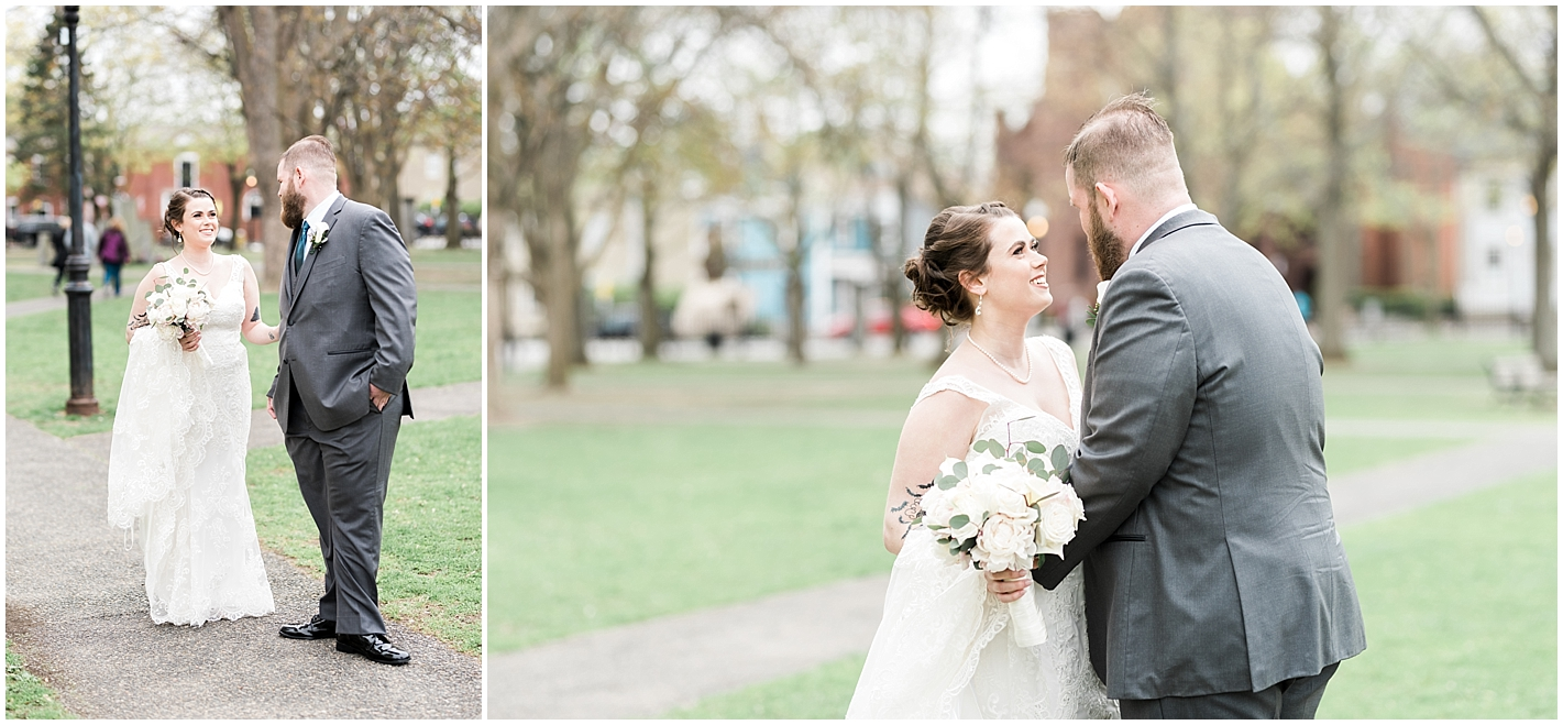 Grooms Reaction to seeing his bride Photos By Alyssa Parker Photography