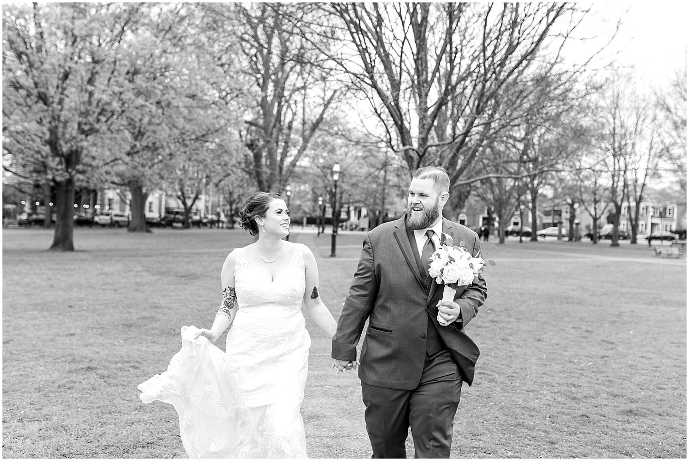 Outdoor Park Wedding Photos By Alyssa Parker Photography
