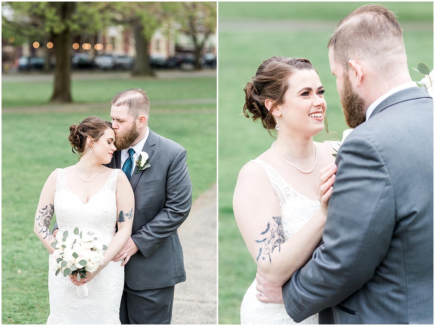 Tattooed Bride Photos By Alyssa Parker Photography