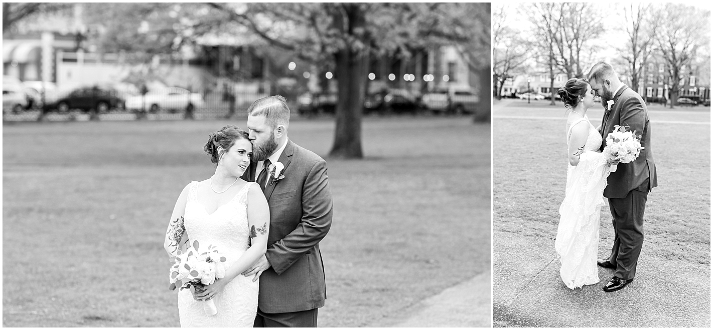 Black and White Classic Wedding Portraits Photos By Alyssa Parker Photography