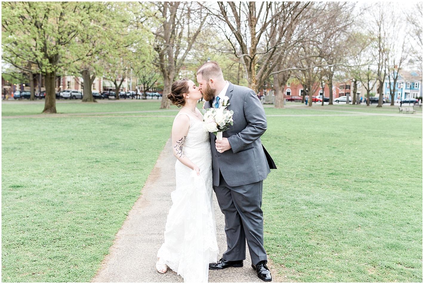 Downtown Salem Massachusetts Wedding Photos By Alyssa Parker Photography