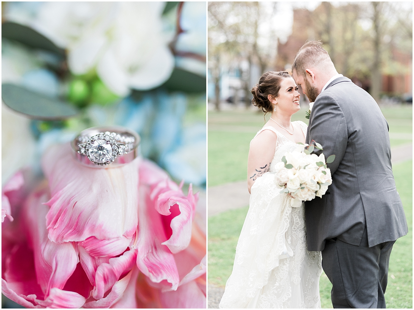 Halo Ring Round Photos By Alyssa Parker Photography