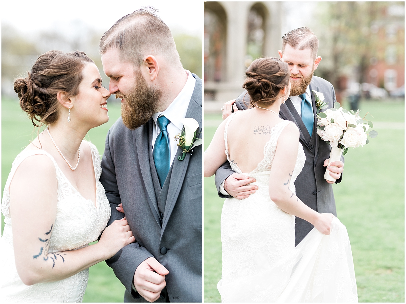 Low Back Bridal Gown Photos By Alyssa Parker Photography