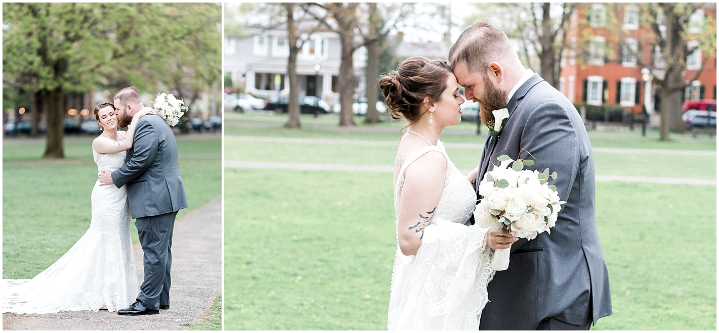 Salem Commons Bride and Groom Portraits Photos By Alyssa Parker Photography