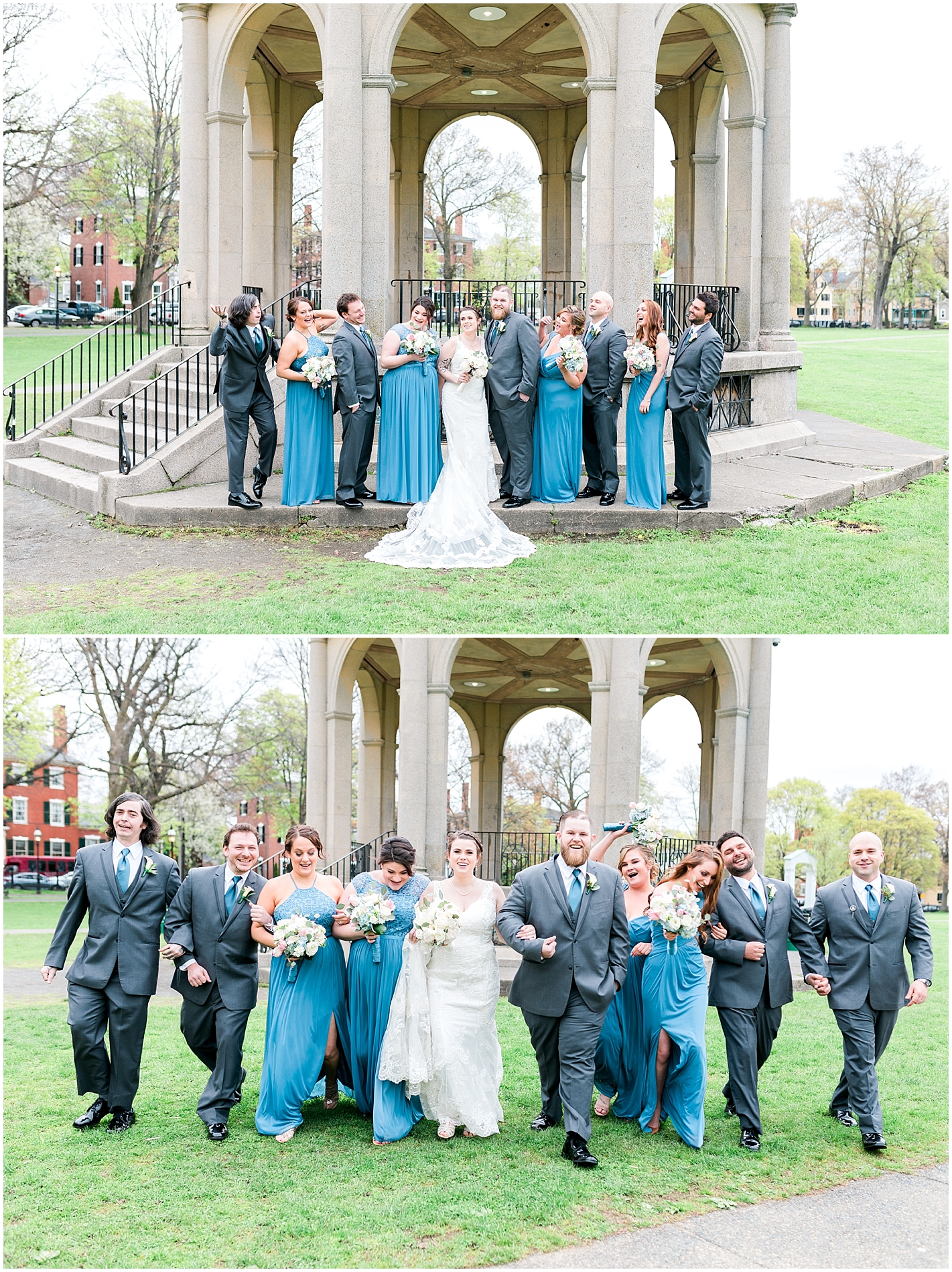Blue and Gray Wedding Party Colors Photos By Alyssa Parker Photography