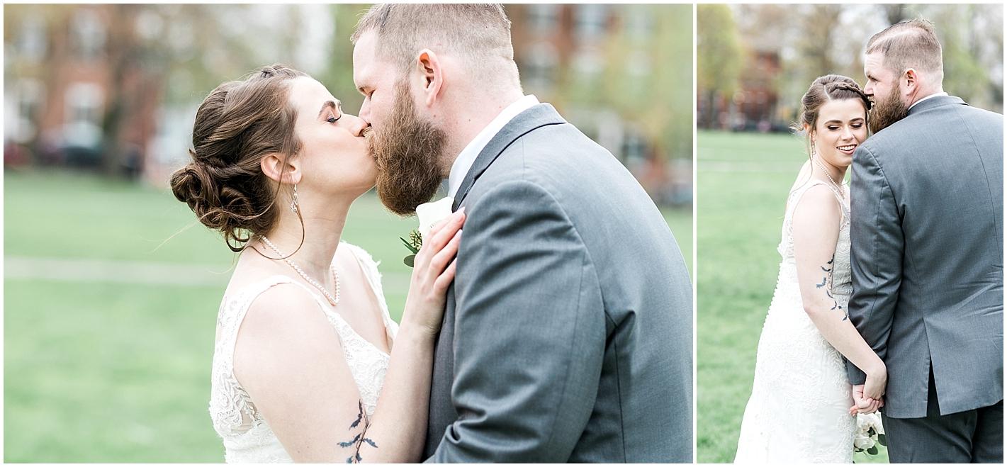 Romantic Candid Wedding Photos By Alyssa Parker Photography