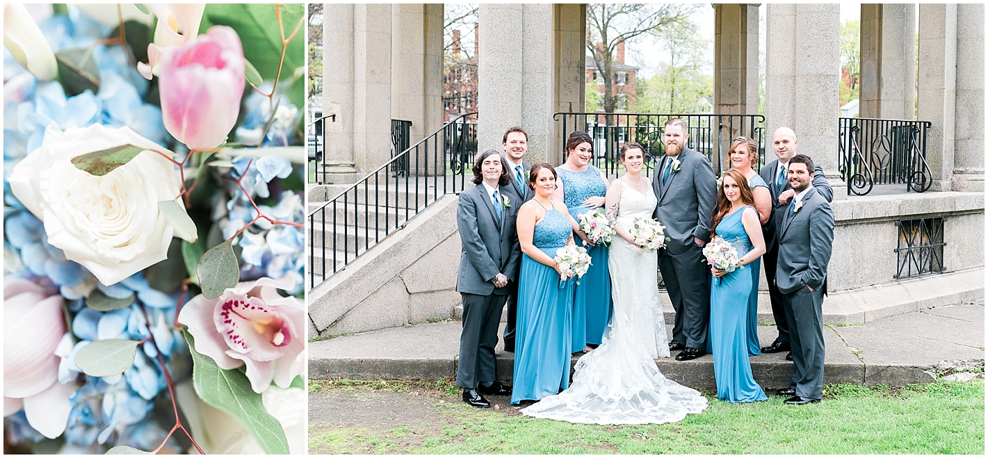 Dusty Blue Wedding colors Photos By Alyssa Parker Photography