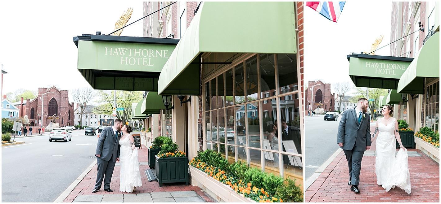 Hawthorne Hotel Wedding Photos By Alyssa Parker Photography