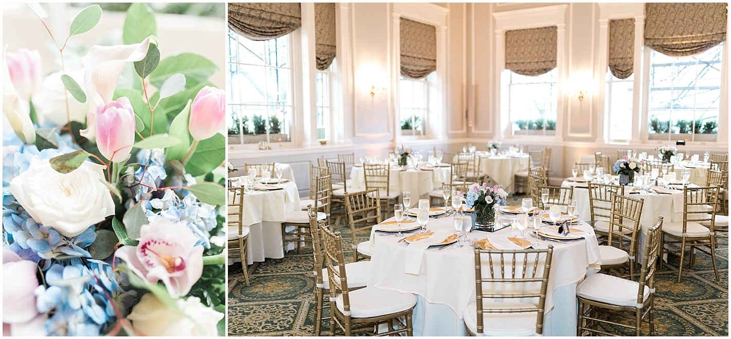 Spring Wedding Reception at Hawthorne Hotel In Salem MA Photos by Alyssa Parker Photography