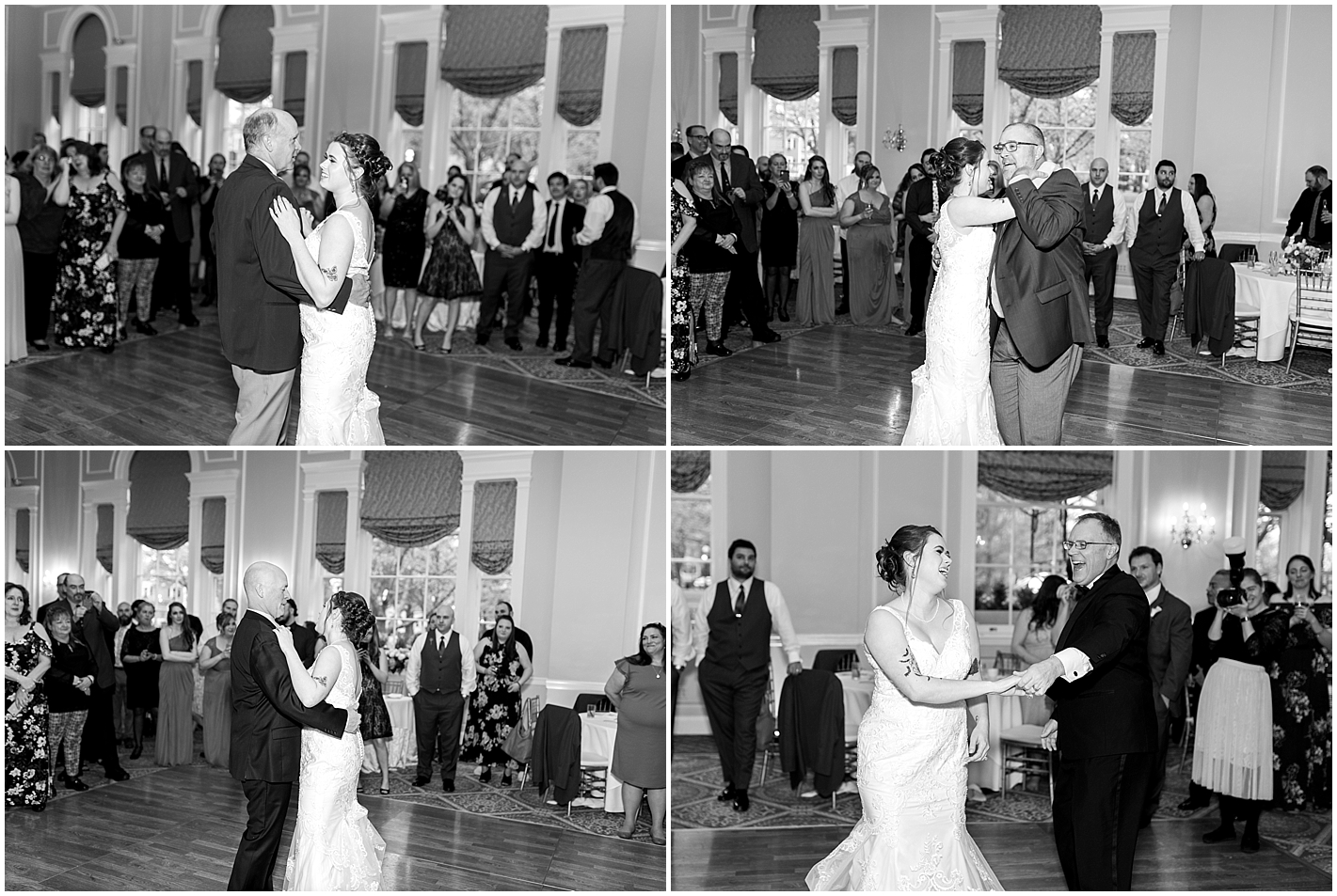 Uncles Dance with Niece at her wedding Alyssa Parker Photography