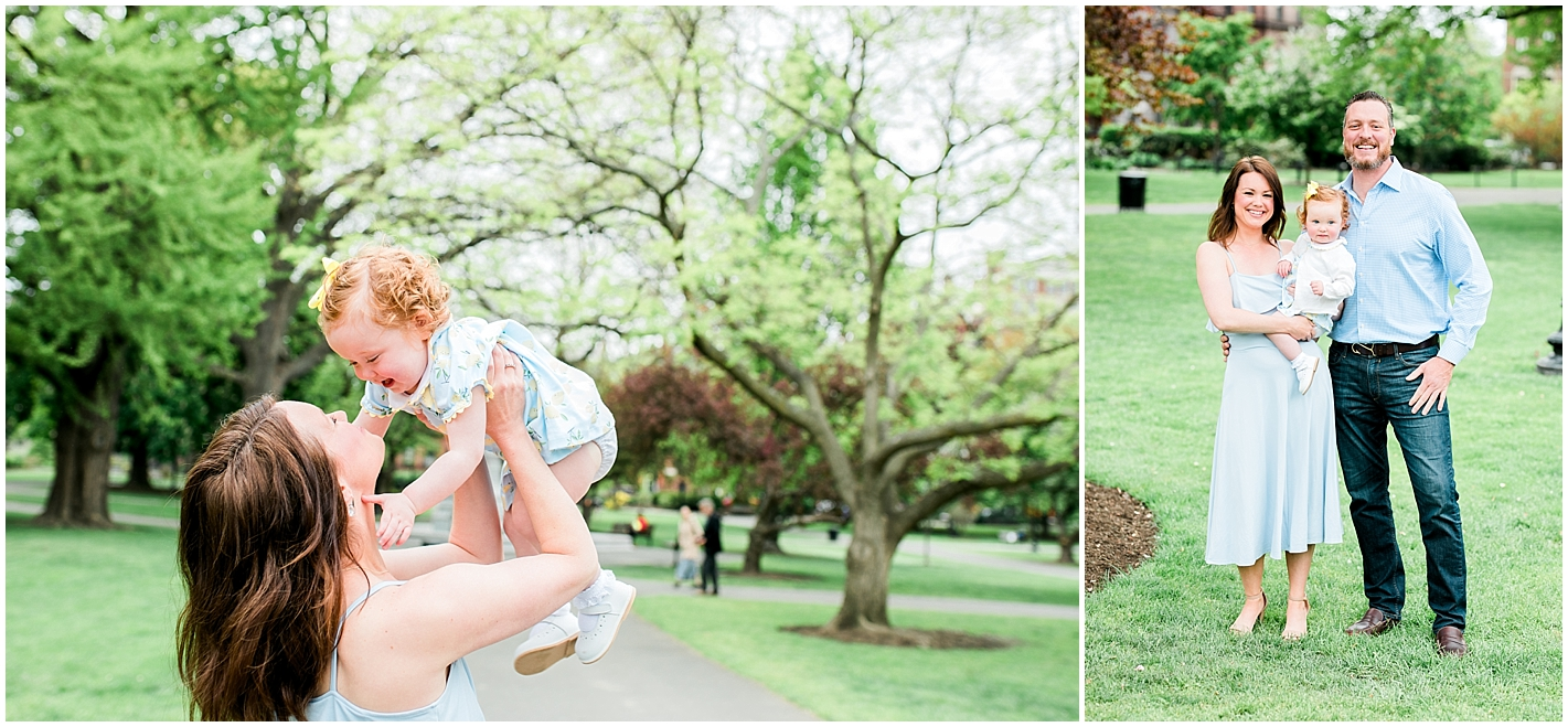 Public Garden Family Session by Alyssa Parker Photography