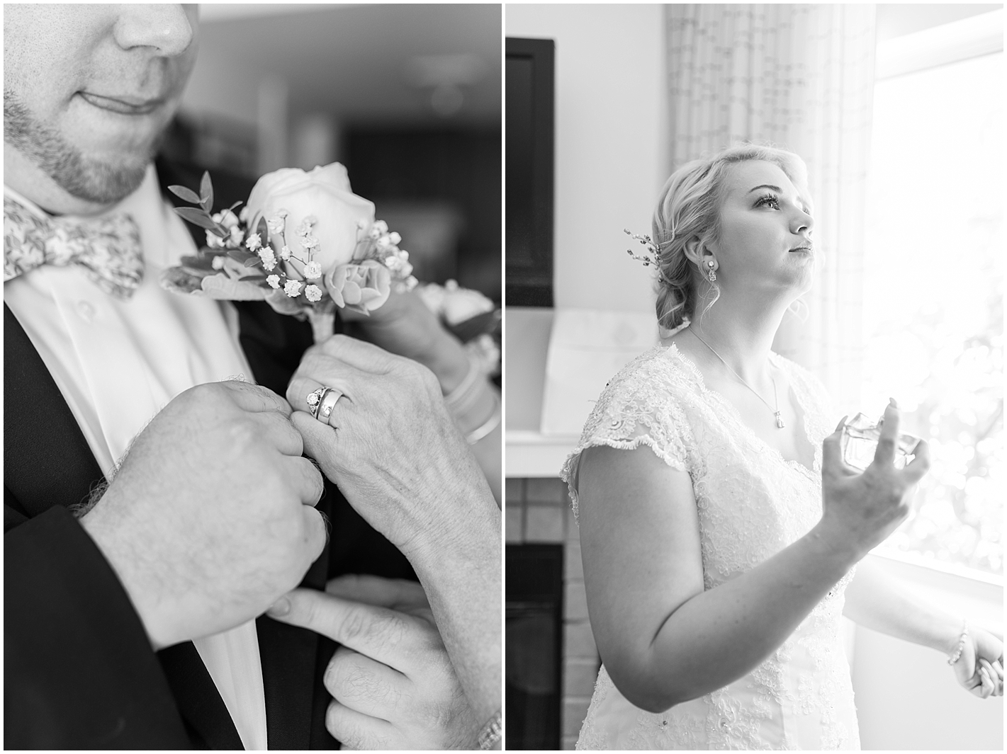 Wedding Day Getting Ready by Alyssa Parker Photography
