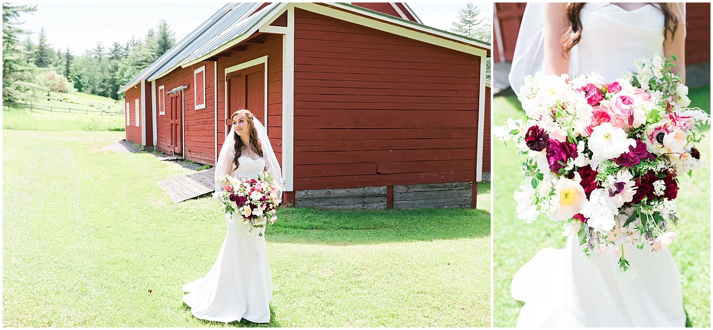 Bride Portraits Woodstock Vermont New England Wedding Photographer Alyssa Parker Photography