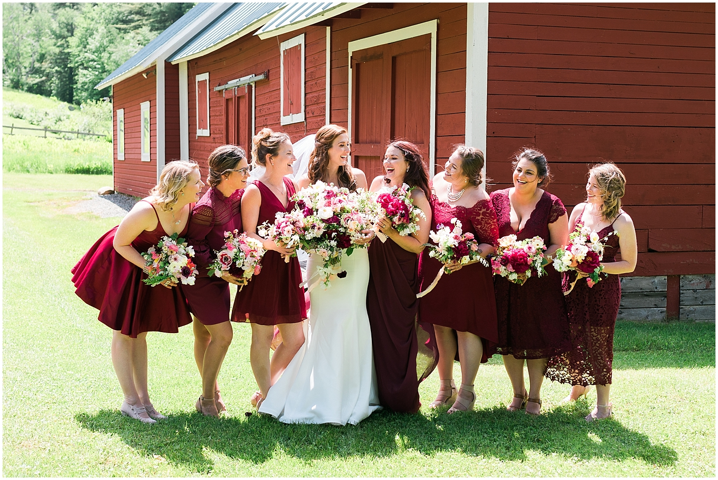 Bridesmaids Photos by Alyssa Parker Photography
