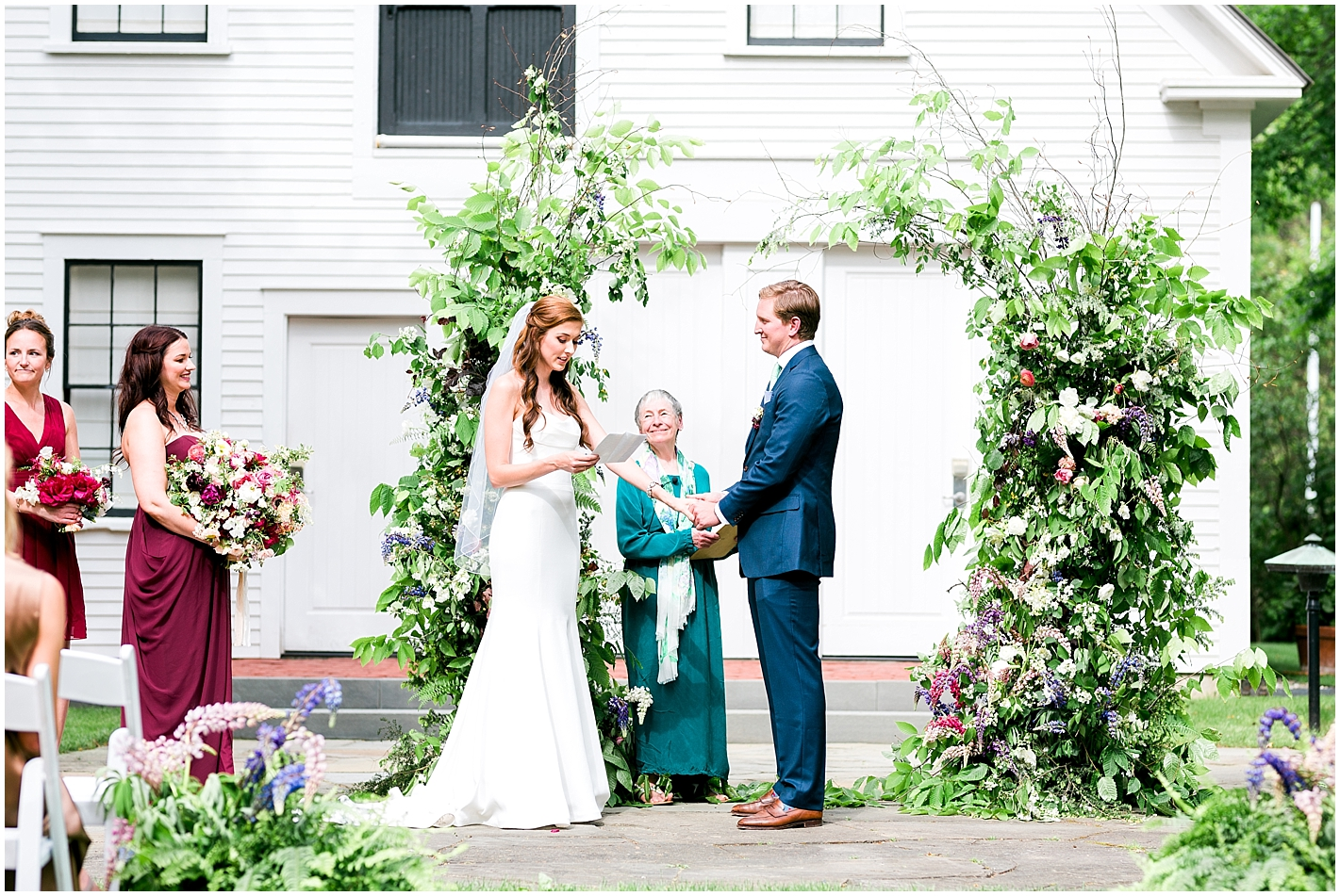 Hand-Written Vows by Bride Photos by Alyssa Parker Photography