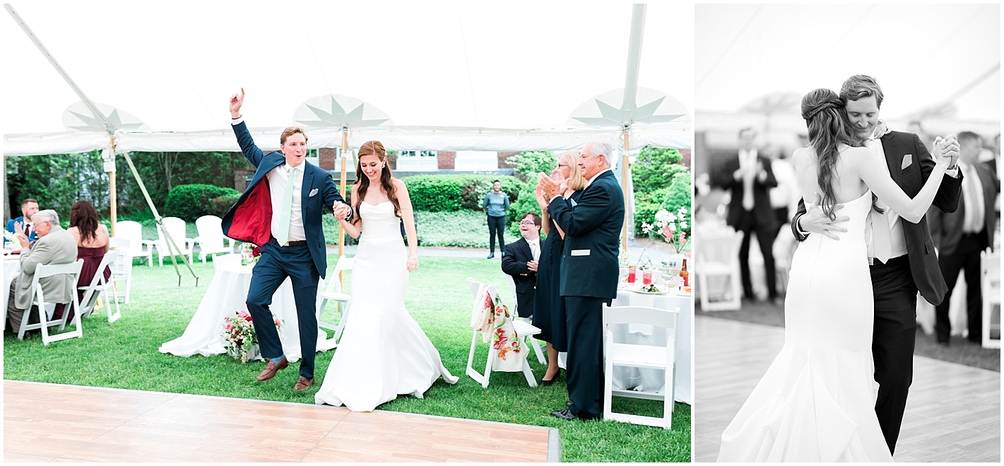 Bride and Groom Introduced Photos by Alyssa Parker Photography
